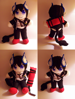 Rin Okumura Plushie by StrawberryParall