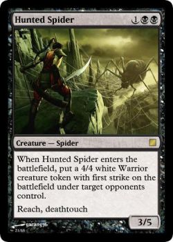 Hunted Spider by Rivaren