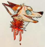 Blue_Illuminate headshot 2/5 by TheMagpiesRoost