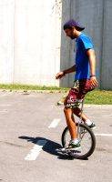 My unicycle by Lintza