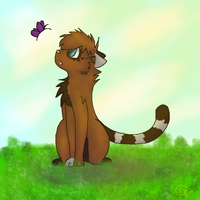 It's a nice day isnt it by dovepaw3000