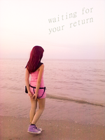waiting for your return by Lady-Eilnys