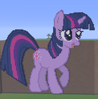 Twilight Minecraft by annary