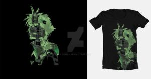 Cloud Strife Midgar Shirt by Zonsa