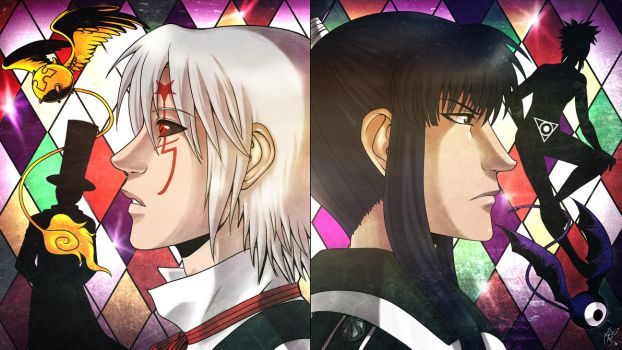 Allen and Kanda by LunaJMS