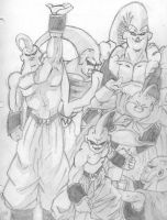 All The Majin Buus by Endrance88