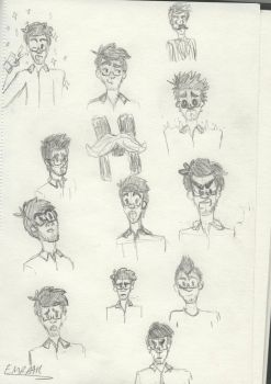 Markiplier Sketches by casjoinedstarfleet