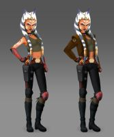 Smuggler Snips Variations (Rebels Concept) by Brian-Snook