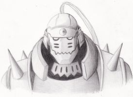 Alphonse Elric by gerty6000