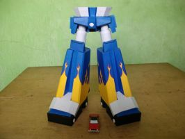 Megas XLR Project:Legs Complete by MarcGo26