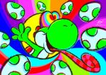 Cool Yoshi by maiconmcn