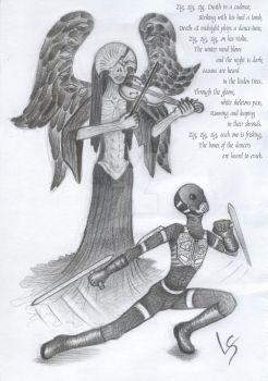 Angel of Death - Danse Macabre by LadyScale