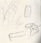 Hand And Still Life by mljedi