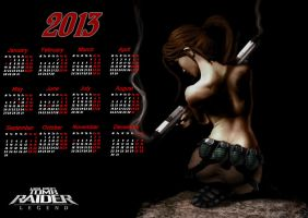 Calendars with Lara (1) by LiSaCroft