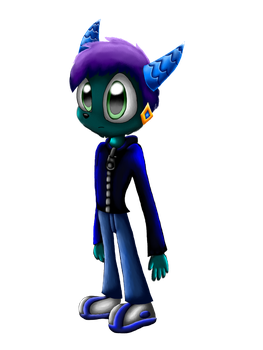 Travis the Dragon Freedom Planet Style by SpongeDragon15
