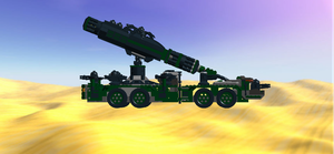 Mobile Crane Destroyer Droid Side View by mafia279
