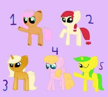 100 Adoptables Challenge: Themes 16 - 20 (CLOSED) by Cragzu
