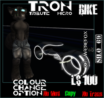 Micro Tron Bike by truemouse