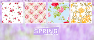 Spring Patterns by RoaringWindd