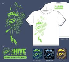 The Hive T-Shirt by jiggly