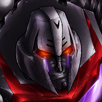 WFC Megatron Collab by BLACK-HEART-SPIRAL