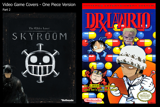 Video Game Covers - One Piece Version PART 2 by Vivi1995