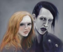 Alice and Mr Carroll by eDIEvil