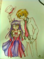 Jaqueline and Jun by chiihime-chan