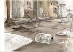 Post  Apocalyptic -  watercolor by Yuuki-Tachi