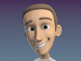 Cartoon Guy - Michael Edewaard by apthanicest