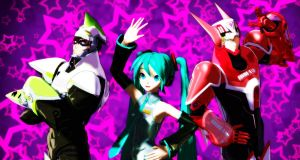 Tiger and Bunny Night Fever  cover by miku by miza-ky