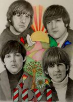 The Beatles 2 by PamelaKaye