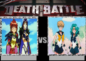 Death Battle-Slayers vs Outer Scouts by EarWaxKid
