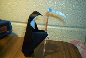 Origami Grim Reaper by the-jabber-wocky