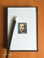 Minuscule JRR Tolkien by Paintsmudger