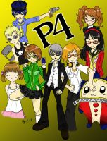 Persona 4 - We Fight Together by Kilili