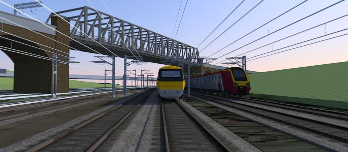 SketchUp High Speed Trains2 by ANDY1701A