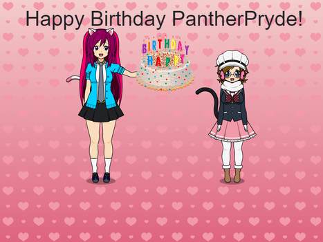 Happy 18th Birthday PantherPryde! by StarkittyTheSonicFan