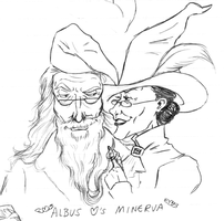 Albus Hearts Minerva by CrystallineColey