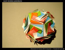 Easy dodecahedron by llifi-kei