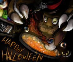 ASYN_Happy Halloween by waterbits