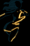 Ms Marvel tron by anklesnsocks