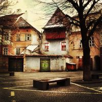 Somewhere in Sibiu by nairafee