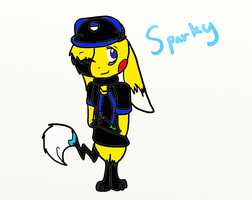 Sparky's New Look by Epix-Sparky