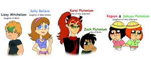 PPG Fan-Universe OCs: Minor Characters by PurfectPrincessGirl
