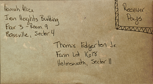 Fallout Letter - Dear Tom by illuminara