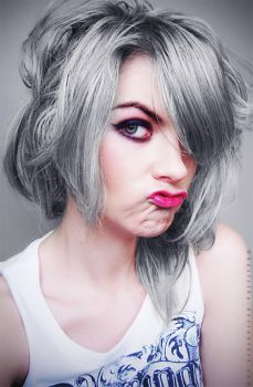 Grey Hair II by Basistka