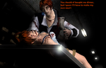 DOA/AJ Crossover - Kasumi forgot the Dinner! by DeathsFugitive