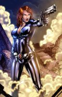 Black Widow colors by nahp75