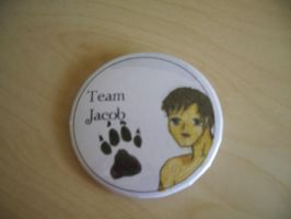 Team Jacob Pins by mewpearl